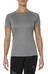 asics Stripe SS Top Women Shark Heather